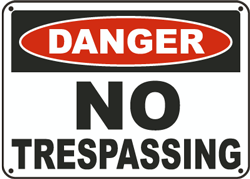 DANGER-NOTrespassing