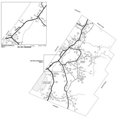 Town of Waitsfield Town Highway Map